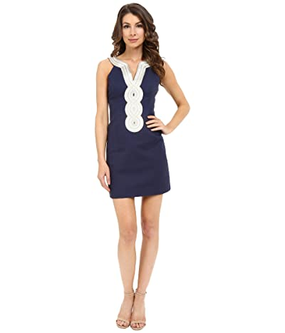 Lilly Pulitzer Valli Shift Dress (True Navy) Women