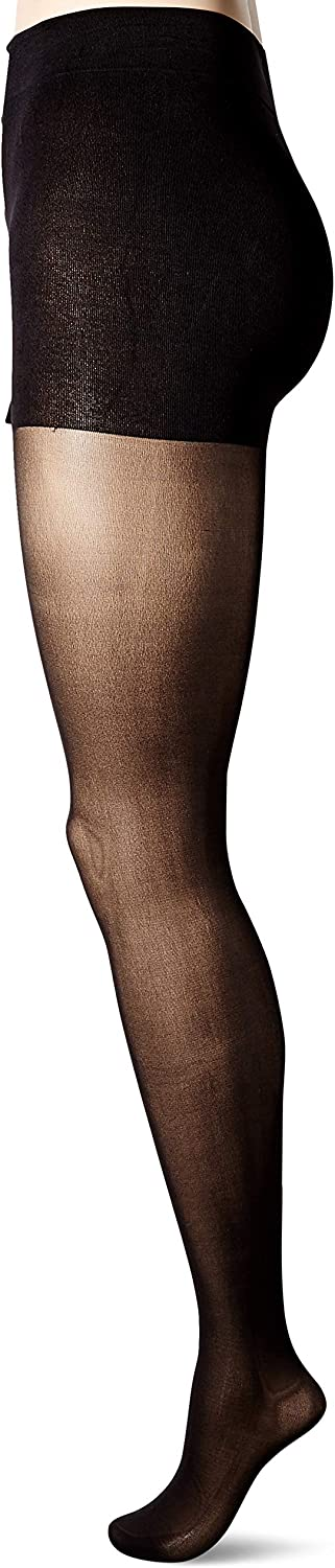 JUST MY SIZE womens Seasonless Tights 2-pack