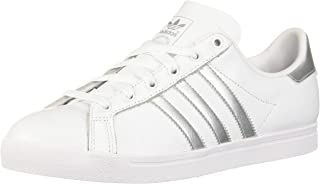 adidas Women's Coast Star Shoes, ftwr White/Silver Met./ core Black, 9 M US