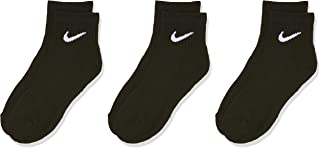 Nike Unisex Everyday Cushioned Ankle 3 Pair Socks