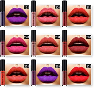 22 Colores Profesional Mate Pintalabios de Maquillaje Larga Duracion para Niñas por ESAILQ G