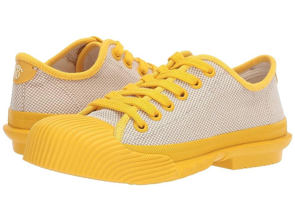 Tory Burch Buddy Sneaker (Off-White/Limone) Women
