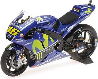 Yamaha YZR-M1#46 Valentino Rossi Movistar Yamaha Moto GP 2017 Moto GP Motorcycle 1/12 Diecast Model by Minichamps 122173046