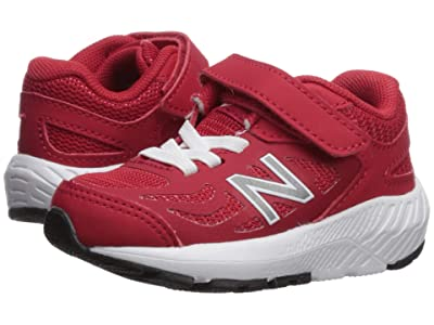 New Balance Kids 519v1 (Infant/Toddler) (Team Red/White) Boys Shoes