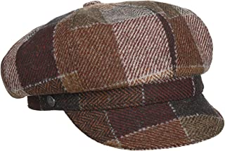Made in Italy Women/´s Flat hat Wool with Peak Peak Autumn-Winter Lierys Sonia Newsboy Cap Women