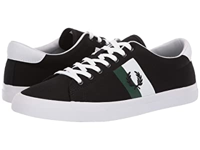 Fred Perry Underspin Plastisol Twill (Black/Black) Men
