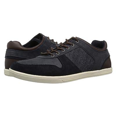 Crevo Irvine (Navy Leather/Suede) Men