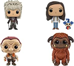 Funko Labyrinth: POP! Movies Collectors Set Includes Jareth, Hoggle, Sarah with Worm & Ludo