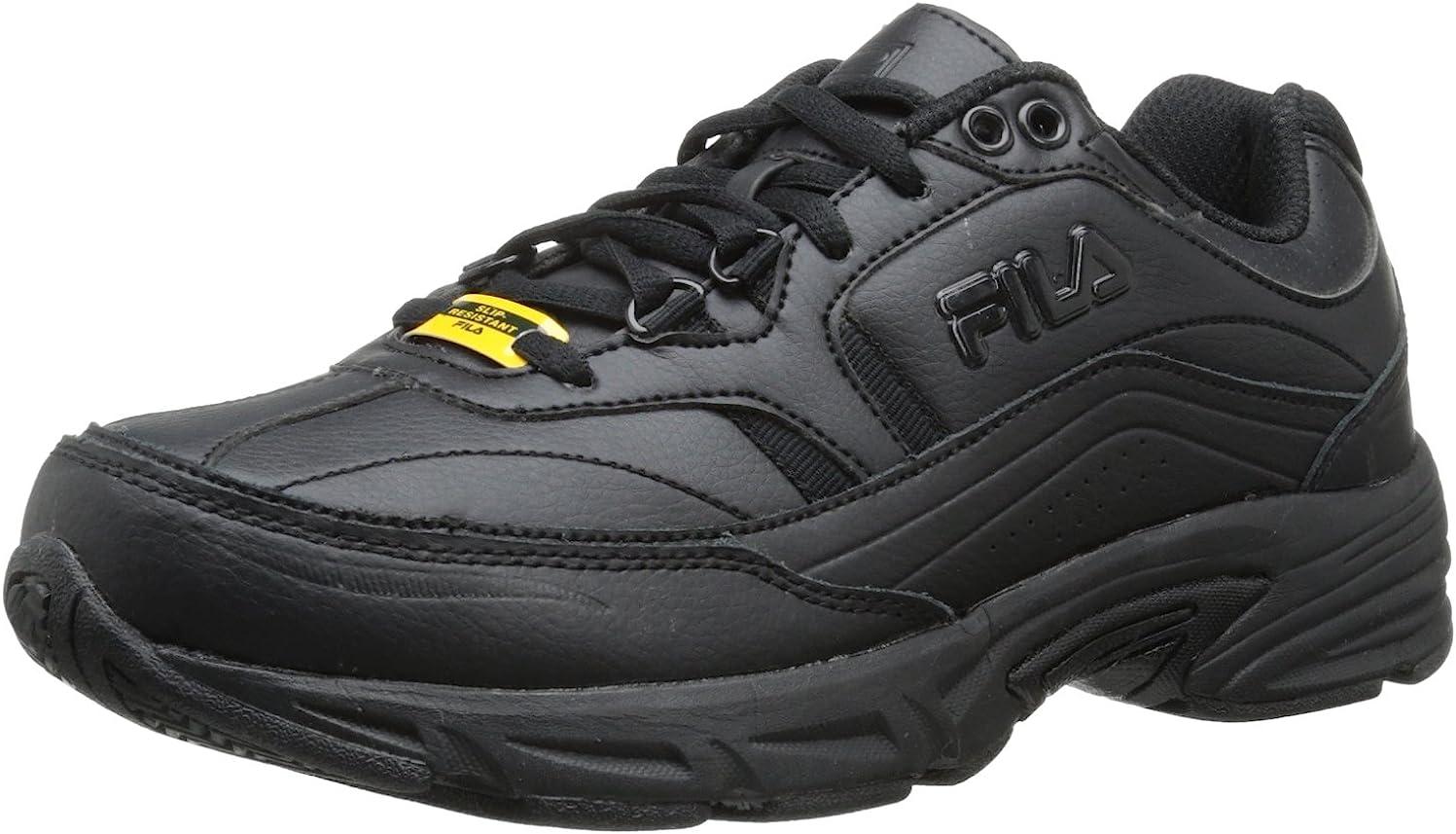 Fila Women's Memory Workshift Training Shoe,Black/Black/Black,9.