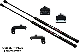 Redline Tuning 21-20003-02 Hood QuickLIFT PLUS Bolt-in System (All Black Components, 4 year warranty) Compatible for Jeep Wrangler JL (2018+)