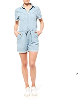 Riders by Lee Women Chambray Denim Playsuit