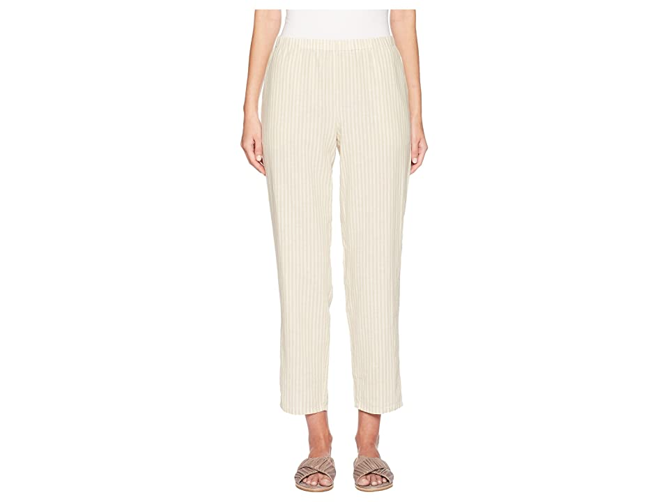Eileen Fisher Ankle Pants (Natural) Women