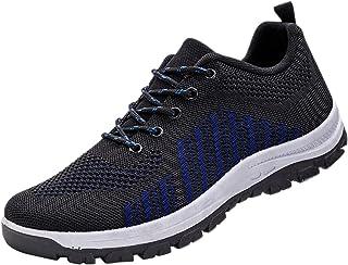 FNKDOR Farbmischung Leicht Sneaker Herren Mesh Atmungsaktiv Laufschuhe Outdoor rutschfest Sportschuhe Turnschuhe