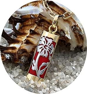 Tiki Abondance Vermeil Disponible en 17 et 23mm Rouge