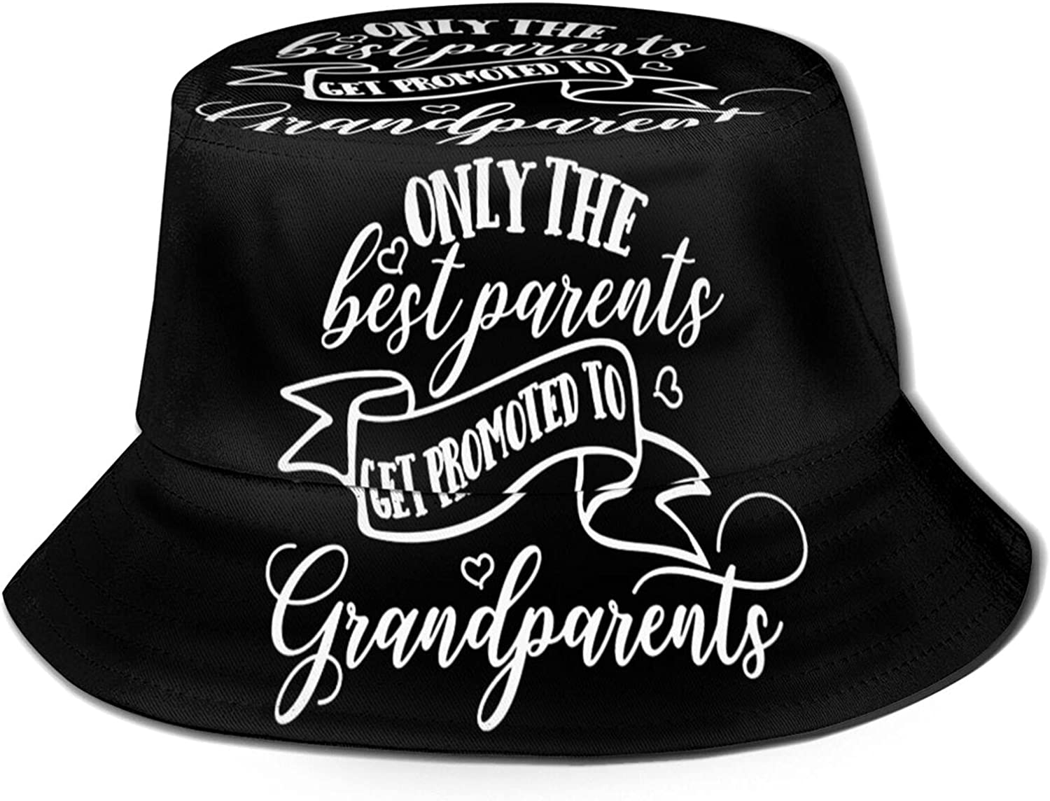 The Sale Best Parents Get Promoted National products Bucket Grandparents Hat to Unisex