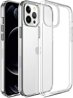 ESSENTIAL ELIXIR Clear Case for iPhone 12 Pro Max (2020) 5G 6.7-Inch, Military Grade Protection, Shockproof Bumper Cover, ...