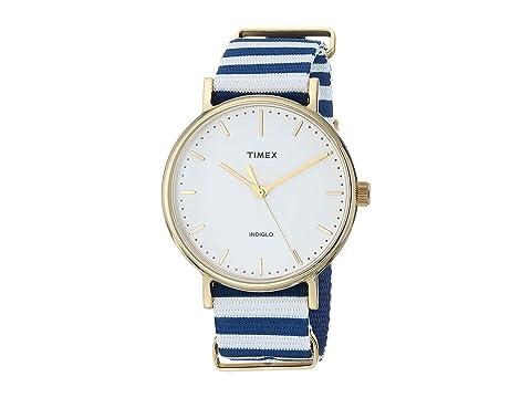 TIMEX Weekender Fairfield, Blue/White
