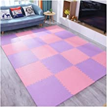 WX&QIANG Foam Activity Play Mat Floor Tiles, Floor Protector, Surface Protection, Underlay Mat For Sports Exercise,36 Piec...