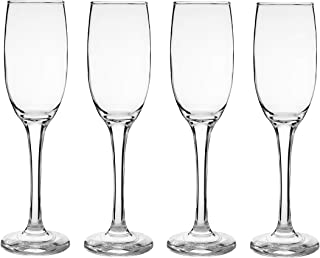 Epure Superior Collection Glass Drinkware Set (Flute (6.25 oz.) - 4 pc.)