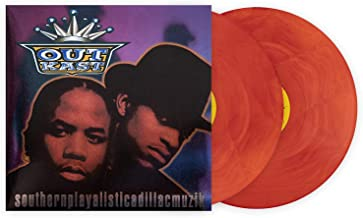 Outkast Southerplayalisticadillacmuzik Unabridged Limited Club Exclusive Edition Multi-Color Orange Galaxy 2XLP Vinyl