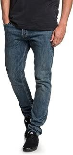 Men's Distorsion Medium Blue Denim Jean Pants