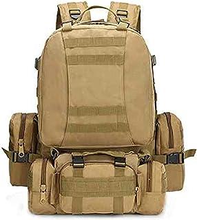 Tactical MOLLE Mochilas de Trekking 55L