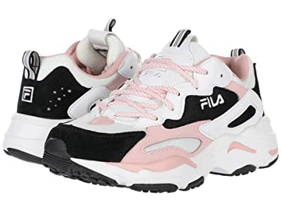 Fila Ray Tracer (White/Black/Peachskin) Women