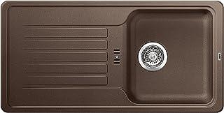 BLANCO Favos 45 S, Küchenspüle aus Silgranit, Cafe, reversibel / mit 3 1/2 Korbventil - ohne Ablauffernbedienung 516620