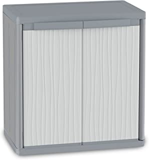 comprar comparacion Terry Wave Jumbo 900 Armario 2 Puertas Especialmente Espacioso con 2 internos. Capacidad máxima del Estante: 25 kg distrib...