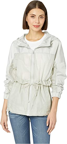 Penrose Mixed Media Rain Coat