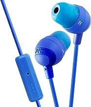 JVC HAFR37A Marshmallow Headphones with Mic, Blue