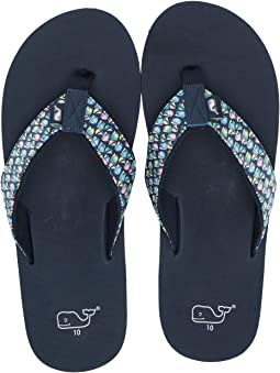 8474e6d50fbf Hull Blue. Vineyard Vines. Sailboat Classic Flip-Flop