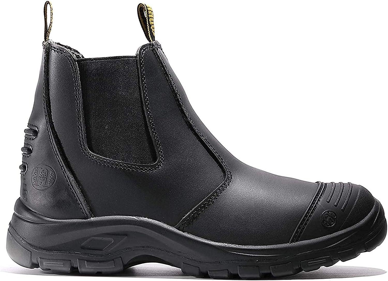 Max 69% OFF diig Work Boots for Men Sli Waterproof Steel Toe Super intense SALE Working
