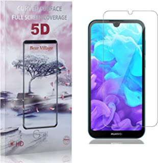 Bear Village® Verre Trempé pour Huawei Y5 2019, Ultra Résistant Dureté 9H Film Protection Écran Vitre, Anti Rayures Protec...