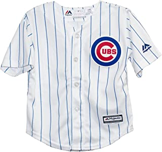 Chicago Cubs Home Toddler Cool Base Replica Jersey by Majestic Select Infant / Toddler / Youth Size: 4 Toddler