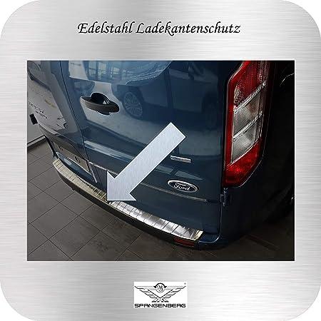 Spangenberg Ladekantenschutz Edelstahl Passend Für Ford Tourneo Custom Transit Custom Ab Baujahr 04 2012 3235298 Auto