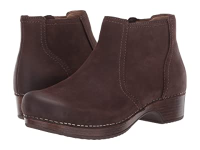 Dansko Barbara (Chocolate Burnished Nubuck) Women