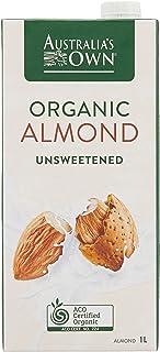 Australia's Own Unsweetened Almond Milk, 1L (Pack of 8)