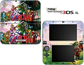 The Legend of Zelda: Ocarina of Time Decorative Video Game Decal Cover Skin Protector for New Nintendo 3DS XL (2015 Edition)