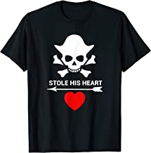 Funny Valentine's Day Couples Costume Shirt Pirate Men Women