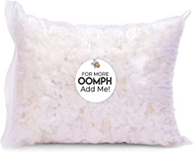Husband Pillow Premium Shredded Memory Foam 1 Pound OOMPH Bag – Safe/Clean..
