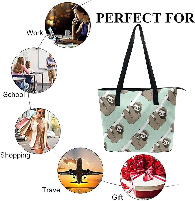 Womens Girls Large Capacity Shoulder Tote Bag Casual Multifunction Handbags