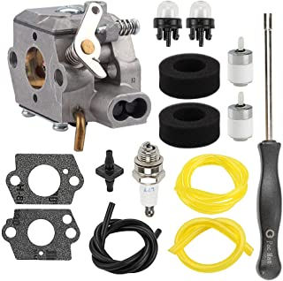 Hayskill 753-04333 Carburetor w Air Filter Tune-Up Kit for MTD Ryobi 700r 720r 725r 775r 704rVP 750r 280 280r 310BVR 410r 600r 704r 705r 765r 766r 767r 790r Trimmer Brushcutter Carb 791-182875