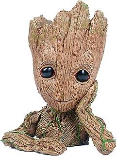 Groot Maceta Guardianes de la Galaxia Bebé Figuras de Acción Modelo Lindo Juguete Pen Pot
