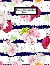 School Counselor Log Book: School Counselor Workbook   Counselling Information Notebook Journal