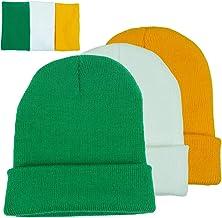MERFUNTO Slouchy Beanie for Men St. Patrick`s Day Funny Hat Skull Knit Cap