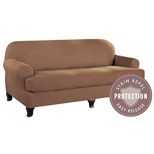 T Cushion Sofa Slipcover Amazon Com