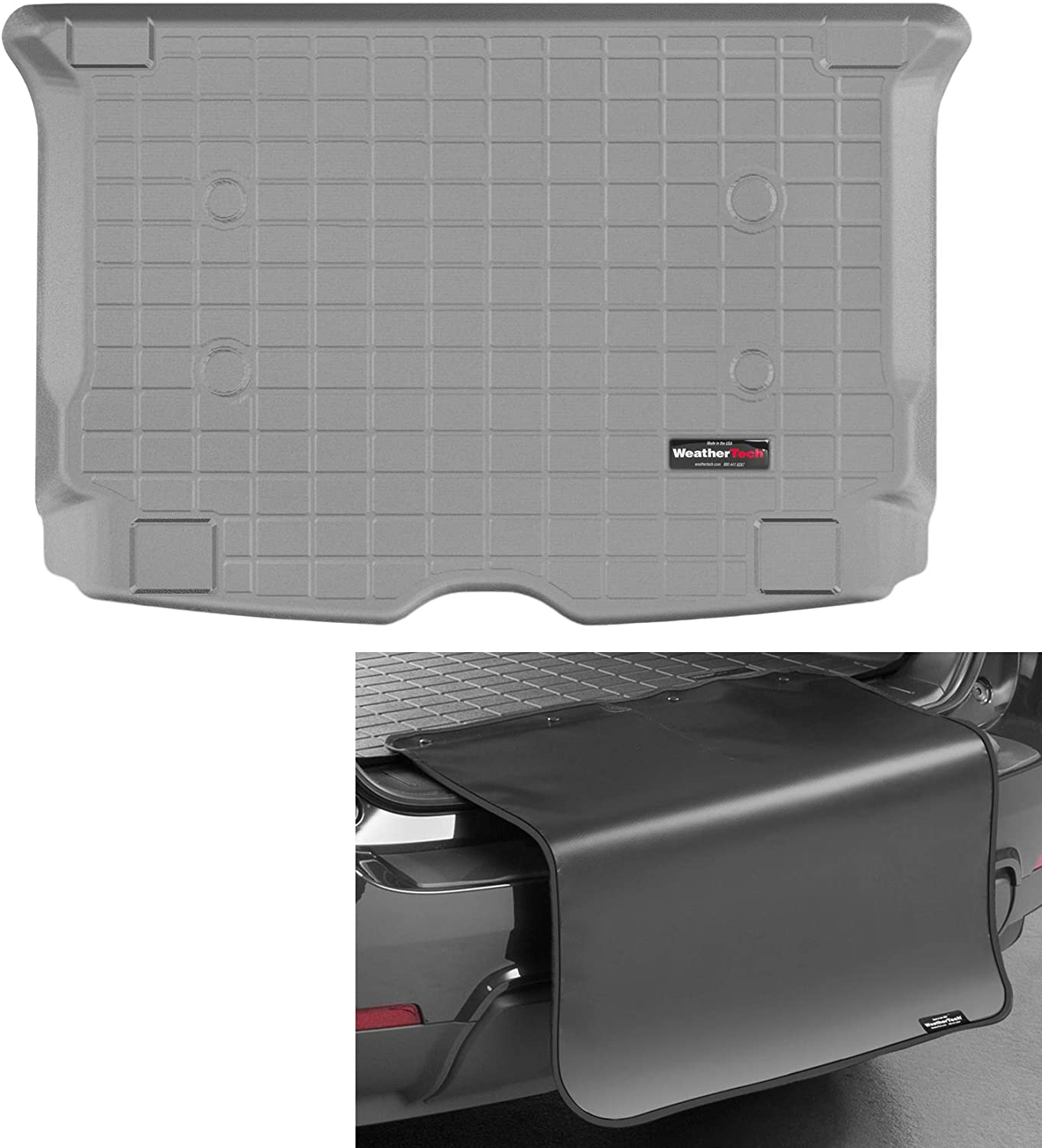 WeatherTech Max 74% OFF Cargo Trunk Recommended Liner with Bumper for i3 - BMW Protector