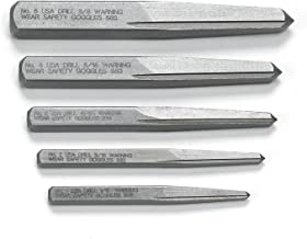GEARWRENCH 5 Pc. Straight Fluted Screw Extractor Set - 720DD