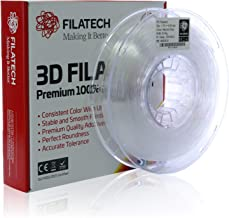 Filatech PC Filament, Natural Clear, 1.75mm, 0.5 kg, Made in UAE